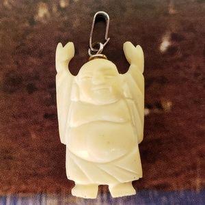Vintage 1970s Good Luck Budda Pendant
